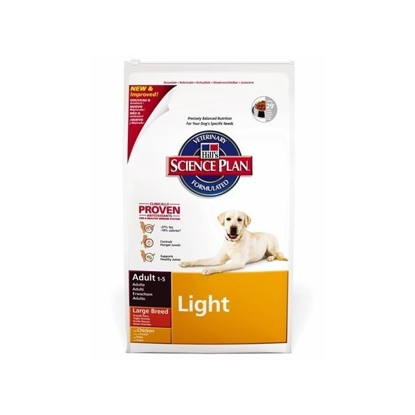 Hill's Pet Nutrition Hill's Science Plan Canine Adult Light Large Breed Poulet