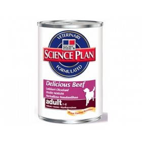 Hill's Pet Nutrition Hill's Science Plan Canine Adult Delicious Boeuf