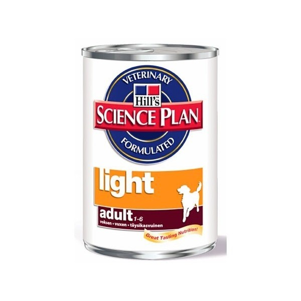 Hill's Pet Nutrition Hill's Science Plan Canine Adult Light Poulet