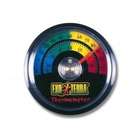 Thermomètre à aiguille pour terrarium