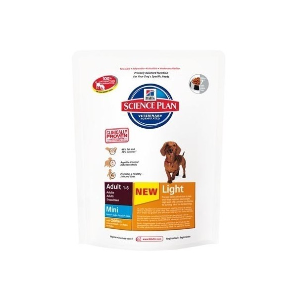 Hill's Pet Nutrition Hill's Science Plan Canine Adult Mini Light Poulet