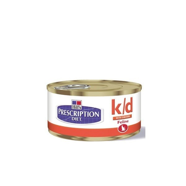 Hill's Pet Nutrition Hill's Prescription Diet Feline k/d Minced with Chicken