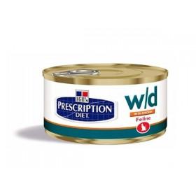 Hill's Prescription Diet Feline w/d Minced with Chicken