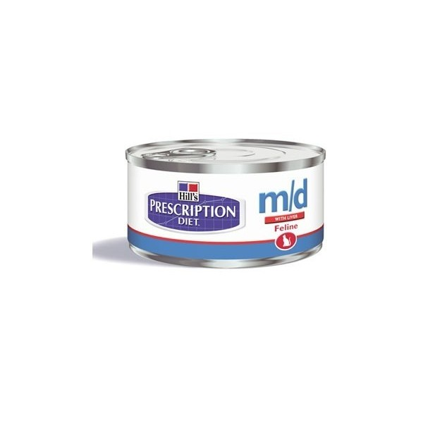 Hill's Pet Nutrition Hill's Prescription Diet Feline m/d Minced with Liver