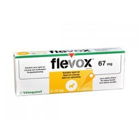 Vetoquinol Vetoquinol Flevox Petit Chien de 2 à 10 kg