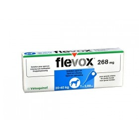 Vetoquinol Vetoquinol Flevox Grand Chien de 20 à 40 kg
