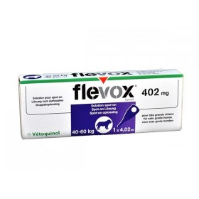 Vetoquinol Flevox Tres Grabnd Chien de 40 à 60 Kg