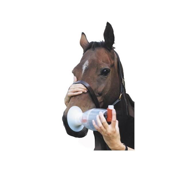 """Matériels Aérosol """"Equine Haler"""" pour inhalation"""