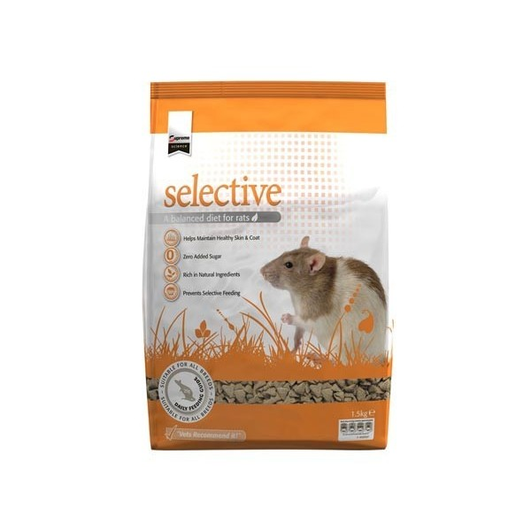 Supreme PetFoods SELECTIVE RAT