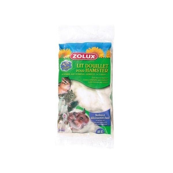 Zolux Lit douillet, moëlleux et chaud pour rongeurs