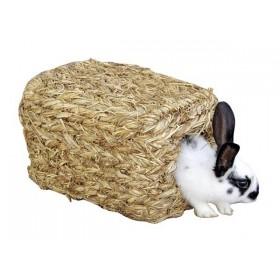 Maisonnette végétale pour lapins nains, cochon d'inde...