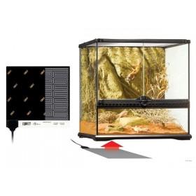 Plaque chauffante pour terrarium