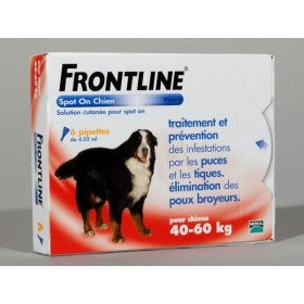 Merial Frontline Spot On Chien 40/60 KG