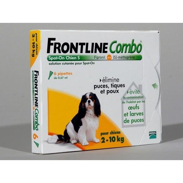 FRONTLINE COMBO CHIEN 2/10 KG