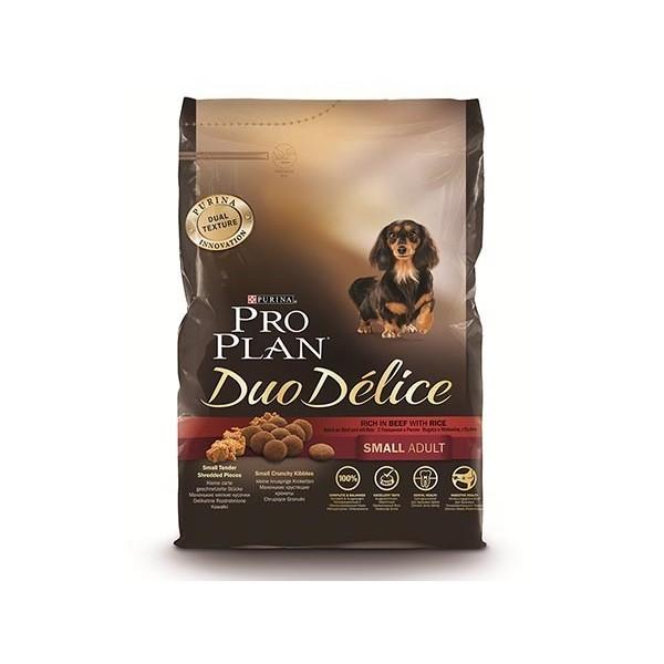 Nestlé Purina Dog Duo Delice Adult Small Boeuf & Riz