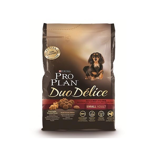 Purina Proplan Chien Duo Delice Adult Small Boeuf & Riz