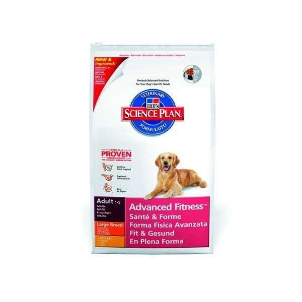 Hill's Pet Nutrition Hill's Science Plan Canine Adult Advanced Fitness Large Breed Poulet