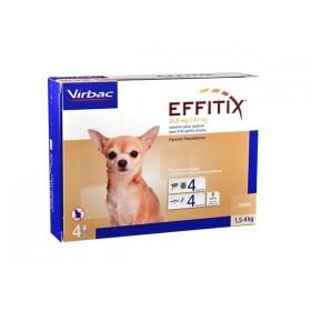 Virbac Effitix Spot On Très petit chien de 1,5 a 4 kg