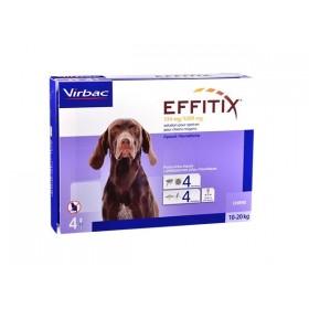 Virbac Effitix Spot On Chien moyen de 10 a 20 kg