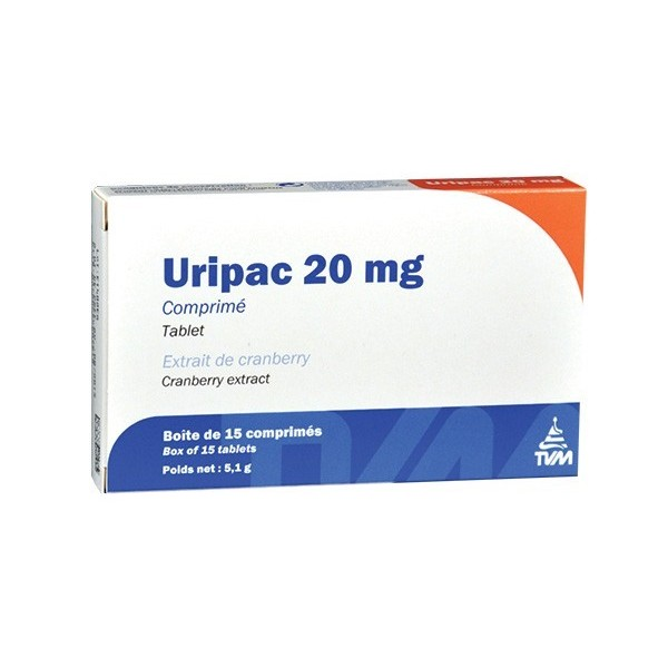 Laboratoire TVM TVM Uripac 20 mg