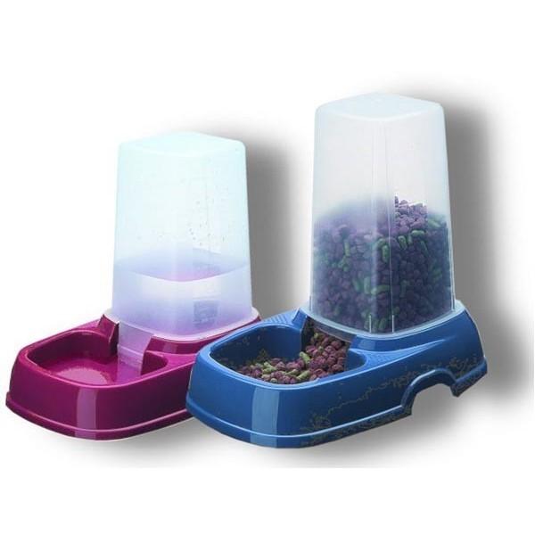 distributeur double usage eau ou croquettes. Black Bedroom Furniture Sets. Home Design Ideas