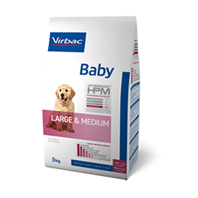 Virbac Veterinary HPM Baby Dog Large & Medium