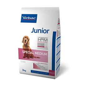 Virbac Nutrition Virbac Veterinary HPM Junior Dog Special Medium