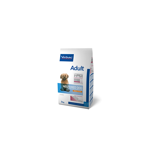Virbac Nutrition Virbac Veterinary HPM Adult Neutered Dog Small & Toy