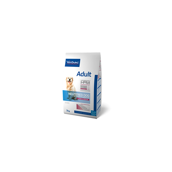 Virbac Nutrition HPM Adult Neutered Dog Large & Medium