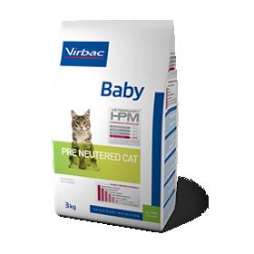 Virbac Veterinary HPM Baby Pre Neutered Cat