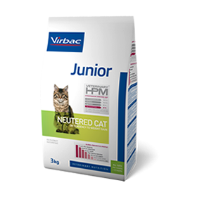 Virbac Veterinary HPM Junior Neutered Cat