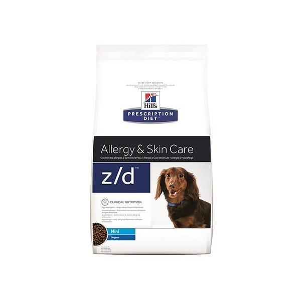 Hill's Pet Nutrition Hill's Prescription Diet Canine Z/D Allergy & Skin Care Mini