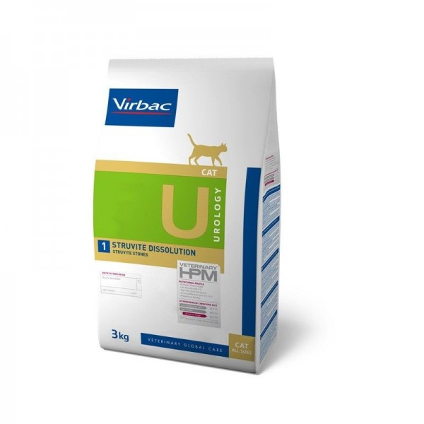 Virbac Nutrition Virbac Veterinary HPM Diet - chat - U1 Urology, struvite dissolution