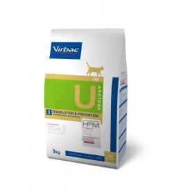 Virbac Nutrition Veterinary HPM Diet - chat - U2 Urology, dissolution et prevention