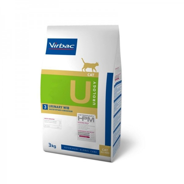 Virbac Nutrition Virbac Veterinary HPM Diet - chat - U3 Urology, urinary WIB