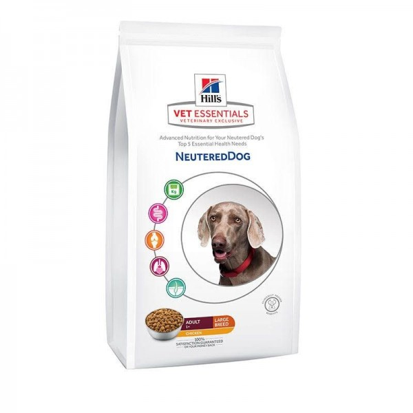 Hill's Pet Nutrition Vetessentials Neutered Dog Adult Large
