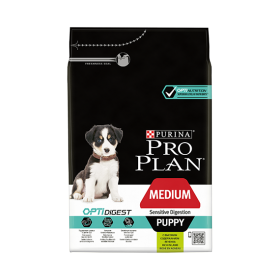 Nestlé Purina Purina Proplan Dog Medium Puppy Sensitive Digestion Optidigest Agneau