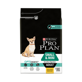Purina Proplan Dog Small & Mini Adult Sensitive Digestion avec Optidigest