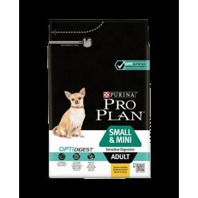 Purina Proplan Dog Small & Mini Adult Sensitive Digestion avec Optidigest