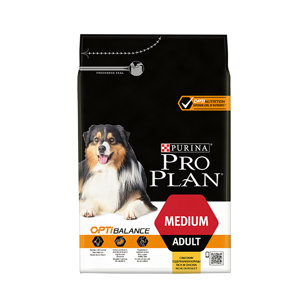 Nestlé Purina Purina Proplan Dog Medium Adult Chicken Optibalance (Optihealth)