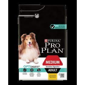 Purina Proplan Dog Medium Adult Sensitive Digestion Chicken Optidigest