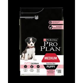 Purina Proplan Dog Medium Puppy Sensitive Skin Optiderma