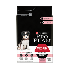 Purina Proplan Dog Medium Puppy Sensitive Skin Optiderma