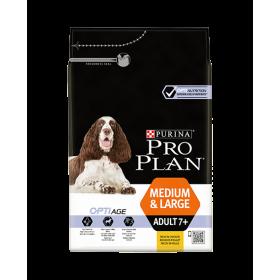 Purina Proplan Dog Medium & Large Adult 7+ Chicken Optiage