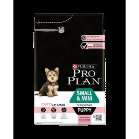 Purina Proplan Chien Small & Mini Puppy Sensitive Skin Optiderma