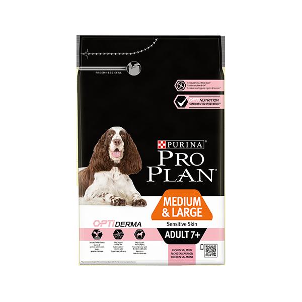 Nestlé Purina Purina Proplan Dog Medium & Large Adult 7+ Sensitive Skin Optiderma