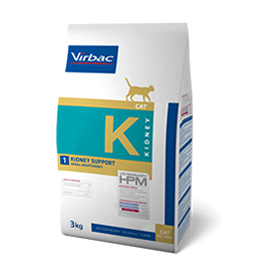 Virbac Nutrition Virbac Veterinary HPM Diet - chat - K Kidney Support