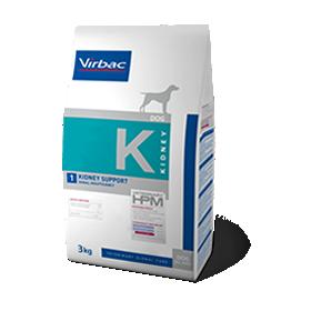 Virbac Veterinary HPM Chien K Kidney Support