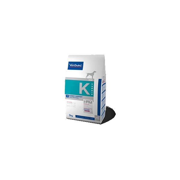 Virbac Nutrition Chien Veterinary HPM K1 Kidney Support