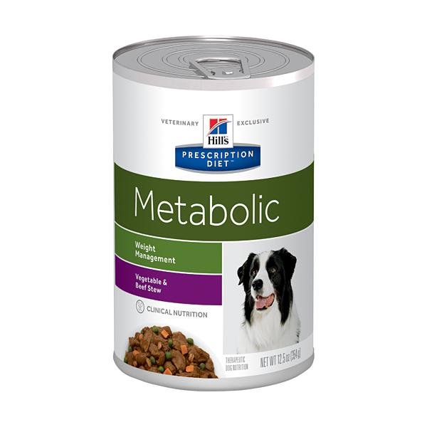 Hill's Pet Nutrition Hill's Prescription Diet Canine Metabolic